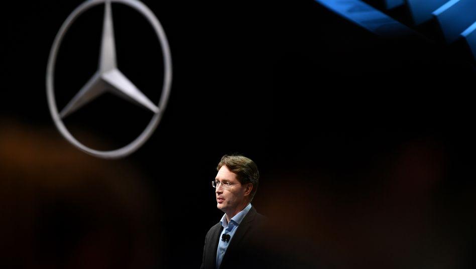 Ola Källenius löst Dieter Zetsche offiziell am morgigen Mittwoch als Daimler-Vorstandschef ab
