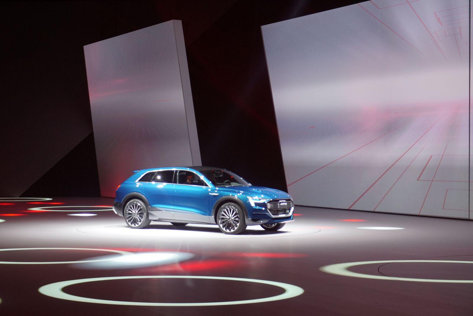 Volkswagen / Audi e-tron Quattro Concept