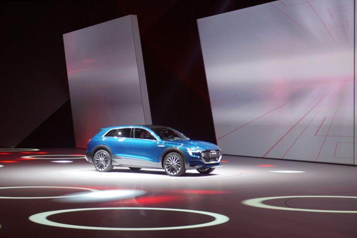 Ein echtes IAA-Highlight: Der Audi e-tron Quattro Concept