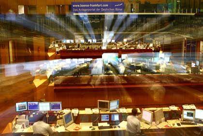 Börse Frankfurt am Main:Steigende Aktienkurse als Zeichen für Wahstumsbelebung