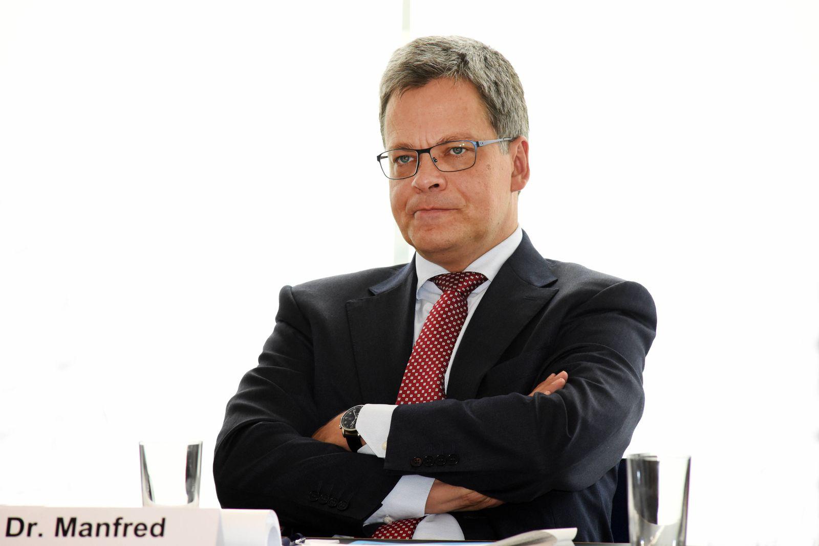 Deutschland, Frankfurt, 28.09.2020 Manfred Knof wird ab dem 1.Januar 2021 Nachfolger von Martin Zielke bei der Commerzb
