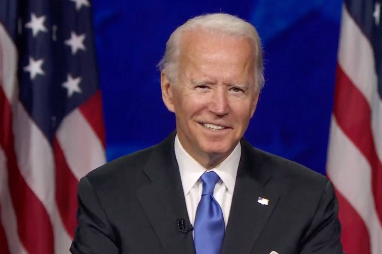 Former Vice President Joe Biden accepts the Democratic Party s nomination for President on the final night of the 2020