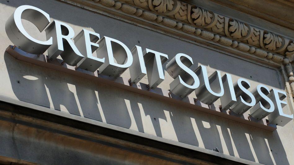 Logo der Credit Suisse: Die Bank zahlt zur Beendigung eines Steuerverfahrens 150 Millionen Euro