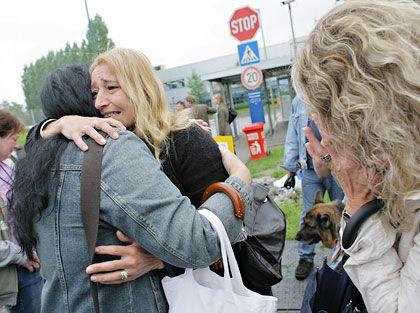 Abschied: Letzter Produktionstag im Nokia-Werk Bochum