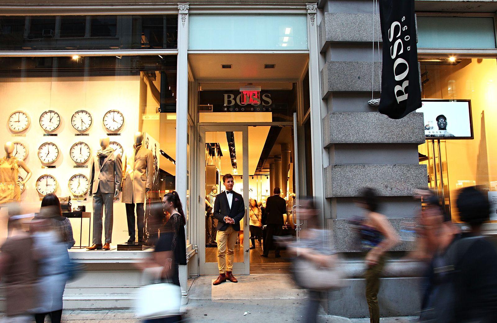 Hugo Boss / shop NY