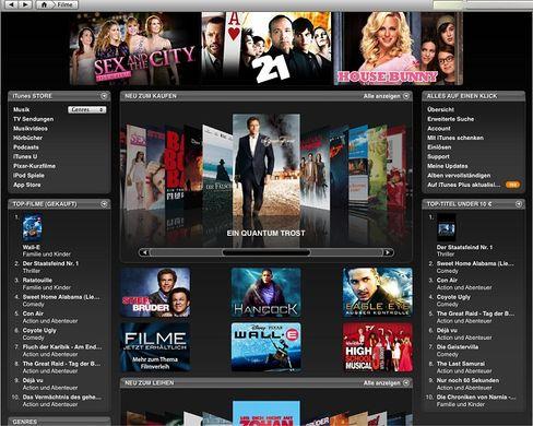 Exklusiver iTunes-Shop: Kein Zutritt für Palm-Nutzer