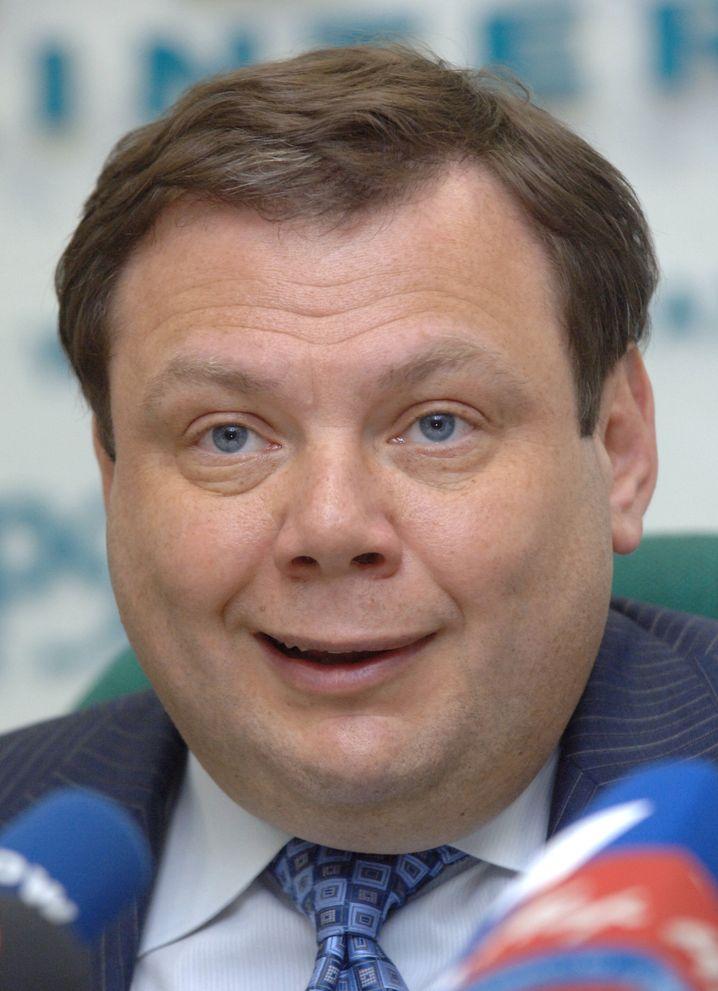 Mikhail Fridman, Russe, kann nicht so, wie er will.