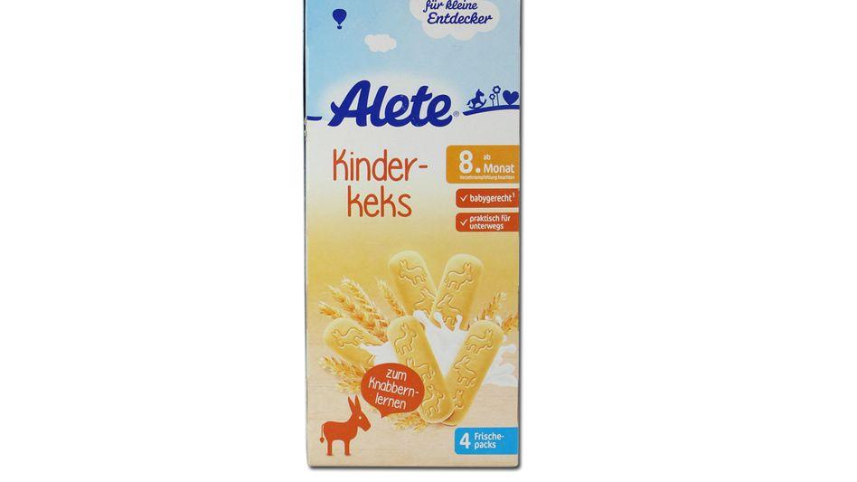 """Alete will das Wort """"babygerecht"""" von der Verpackung entfernen, aber weiterhin für Säuglinge ab dem 8. Monat empfehlen"""