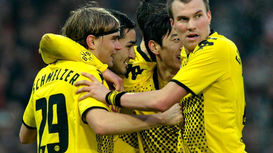 Deutscher Meister Borussia Dortmund: Die Deutsche Telekom hat Interesse an der Übertragung der Fußballbundesliga