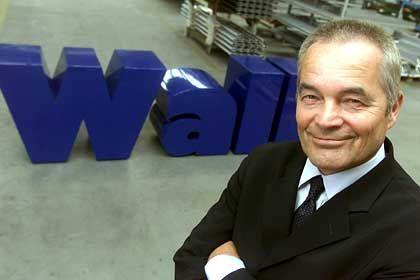 Gibt sich unbeeindruckt und kämpferisch: Hans Wall