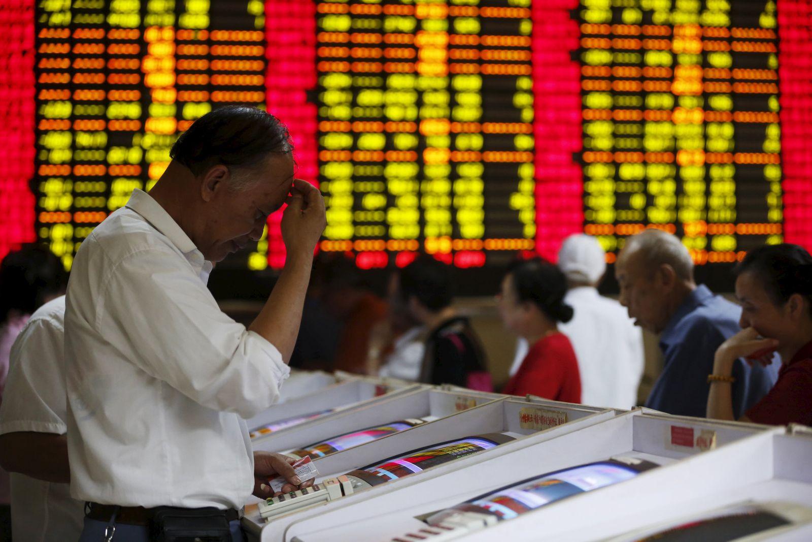 Börse / China / Shanhgai