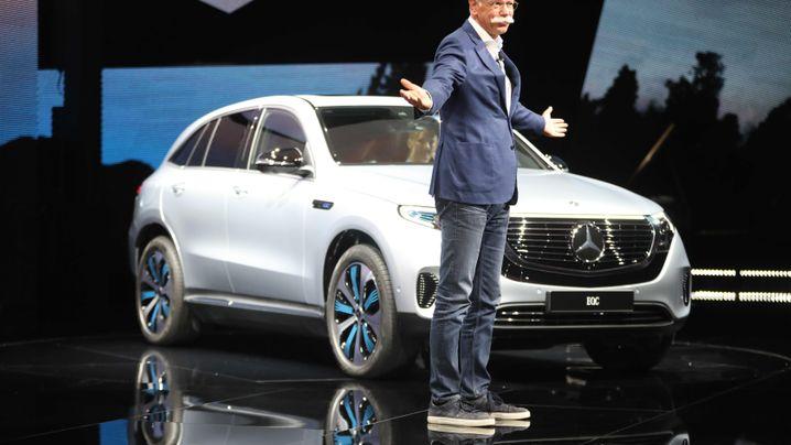 Premiere von Daimlers E-SUV: Das ist der Elektro-Hoffnungsjäger Mercedes EQC