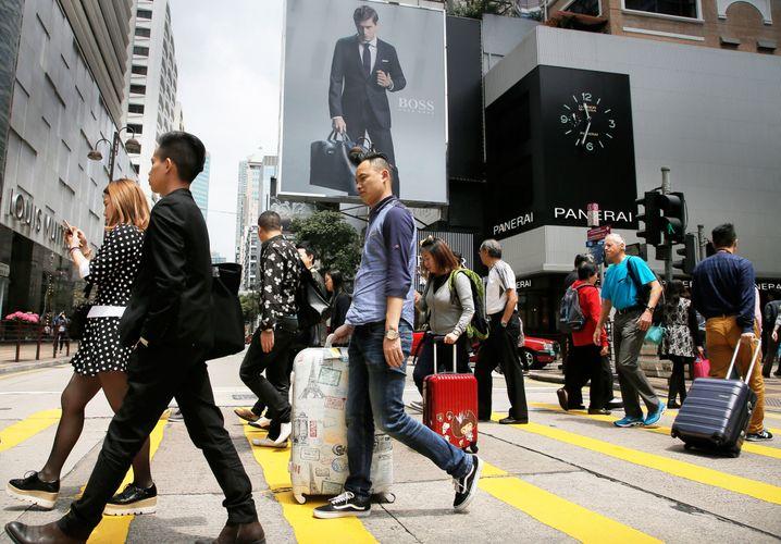 Shopping-Meile in Hong Kong: In diesem Szenario wird der Handel und Finanzmarkt weiter liberalisiert