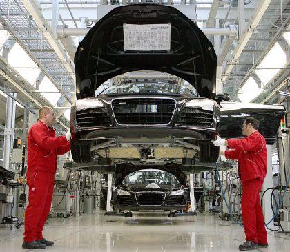 Abschwung: Nicht nur die Autoindustrie ist betroffen