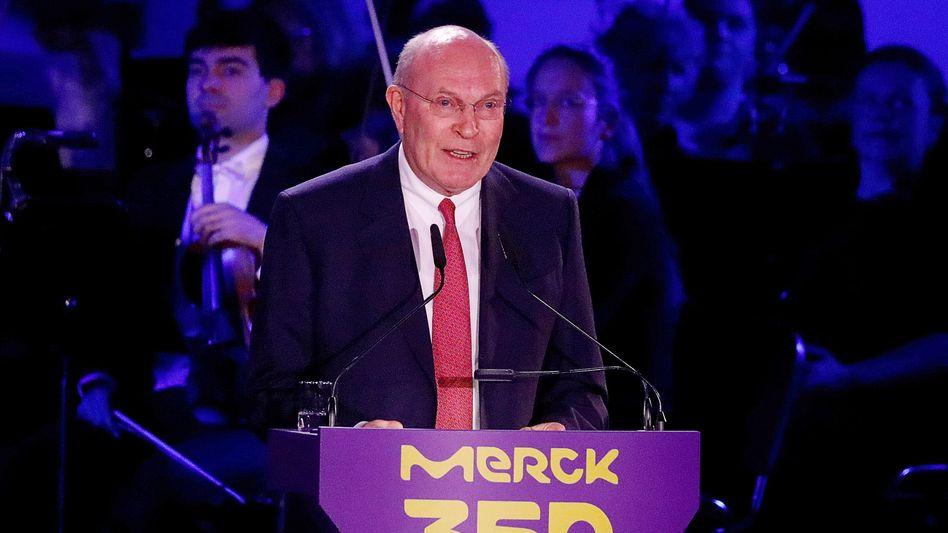 Schatzhüter: Um sieben Milliarden Euro legte allein das Vermögen der Merck-Familie zu, angeführt von Frank Stangenberg-Haverkamp