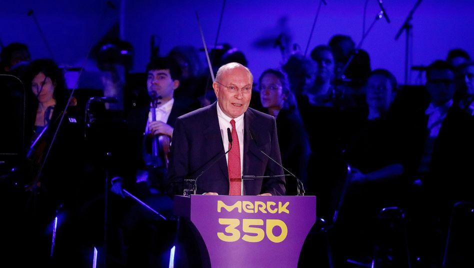 Rekordzuwachs: Kein Vermögen legte stärker zu als das der Merck-Familie, angeführt von Frank Stangenberg-Haverkamp