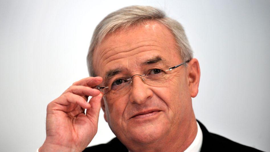 Hoch Motiviert: Volkswagen-Chef Winterkorn wird für den Aufstieg seines Unternehmens mit einem beinahe achtstelligen Salär entlohnt