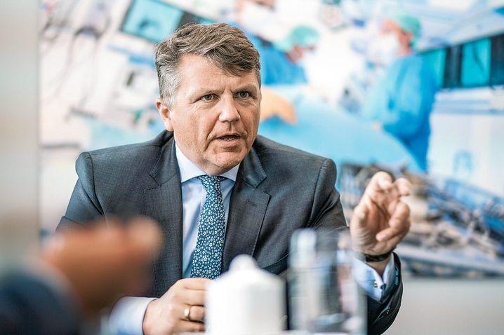 Geschäftsmodell Gesundheit: Der Konzern von Fresenius-Chef Sturm steht im Fokus der Krisenbewältigung
