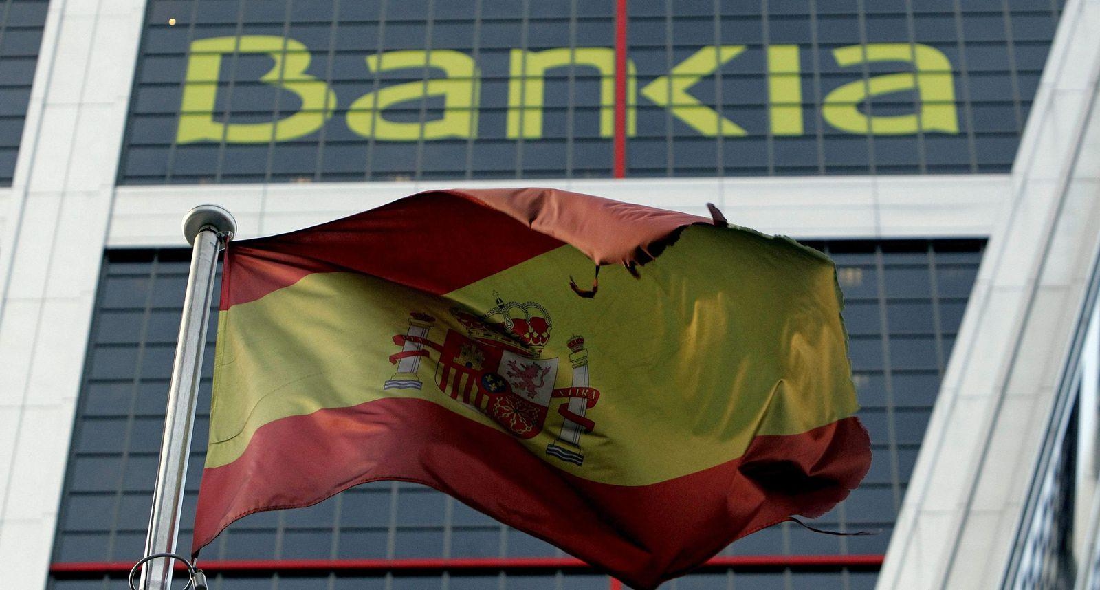 Euro-Finanzminister fordern von Spanien Fortsetzung des Sparkurse