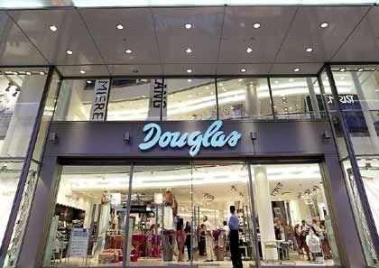 Europäischer Marktführer: Die Parfümeriekette Douglas