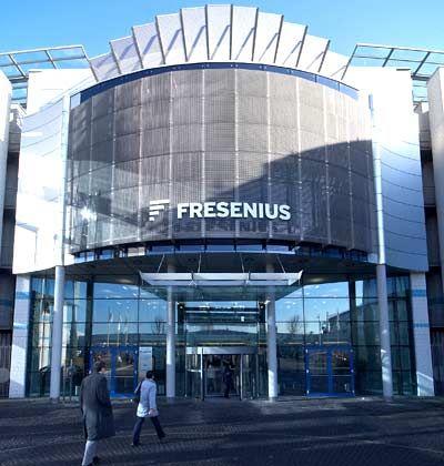 Neue Rechtsform: Fresenius-Zentrale in Bad Homburg