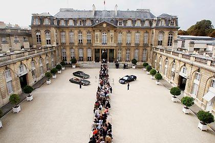 Treffpunkt in Paris: Der Elysée-Palast ist am Sonntag Schauplatz eines Krisentreffens der Euro-Staats- und Regierungschefs