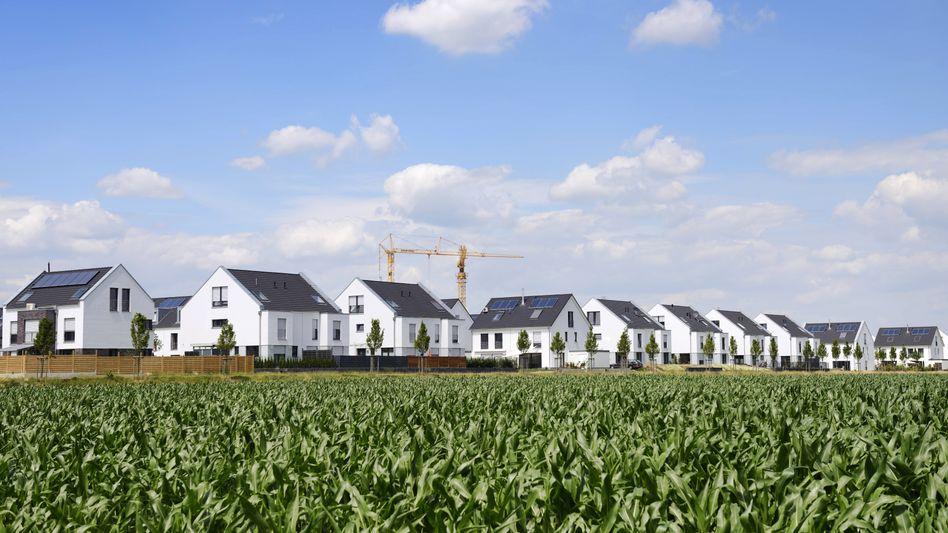 Neubausiedlung bei Düsseldorf: Immobilienkäufer haben Mühe, Objekte zu finden