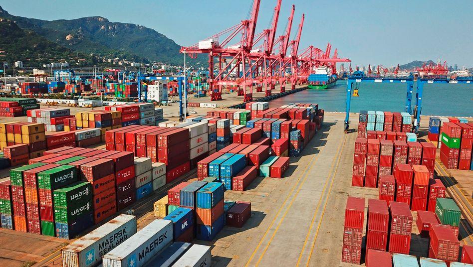 Welthandel: Das US-Defizit im Handel mit China ist 2019 um fast 18 Prozent gesunken