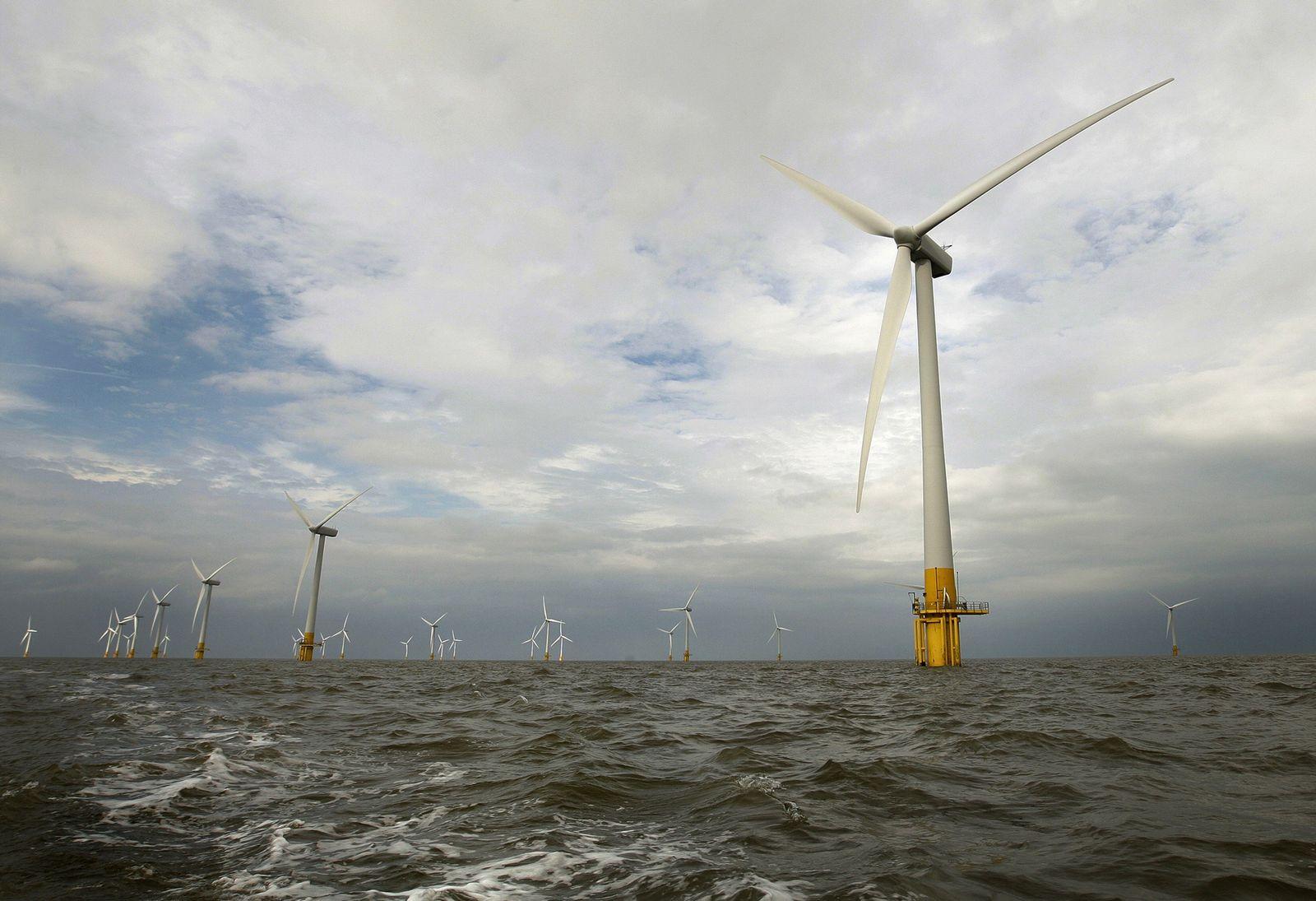 BRITAIN-ALTERNATIVE-WIND-ENERGY