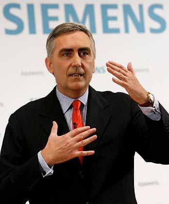 Anspruchsvoll: Siemens-Chef Peter Löscher