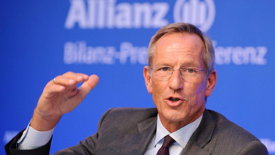 Auf Flughöhe: Allianz-Chef Michael Diekmann hält den Gewinn konstant