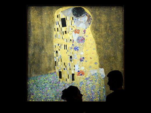 Einer der berühmtesten Küsse der Kunstgeschichte