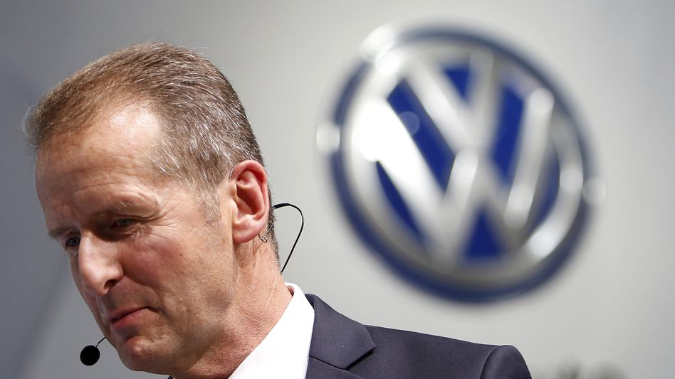 VW-Markenchef Herbert Diess: The Show may go on