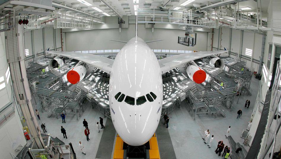 Airbus A380: Dem Flugzeugbauer winkt ein milliardenschwerer Auftrag aus dem Iran