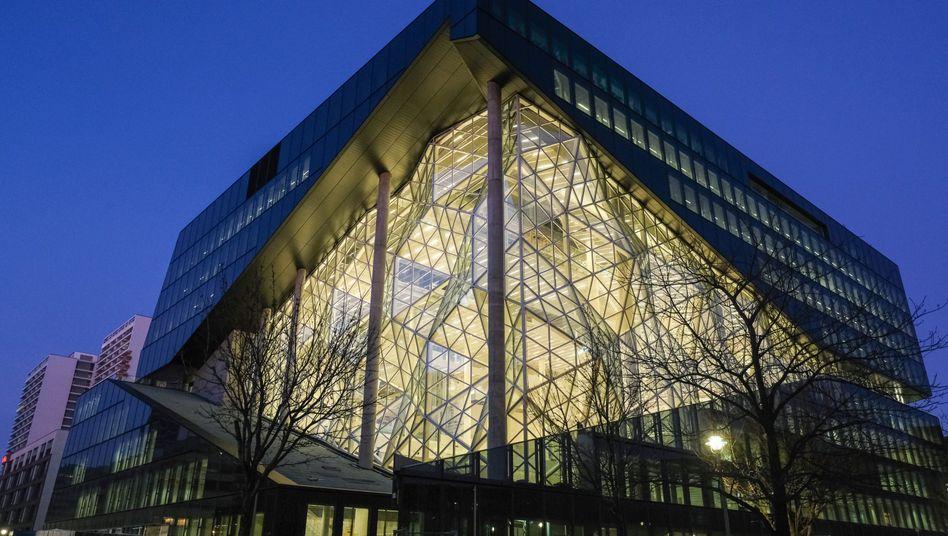 Hinter getönten Scheiben: Der Neubau des Axel-Springer-Konzerns in Berlin