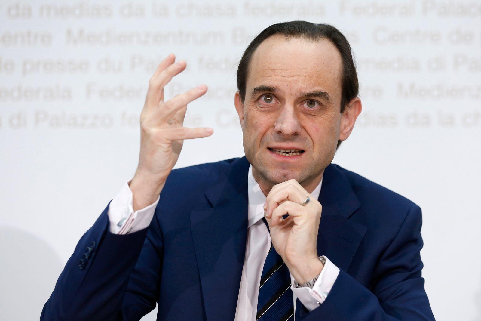 Chef der Schweizer Finanzmarktaufsicht warnt vor mehr Cyberattack