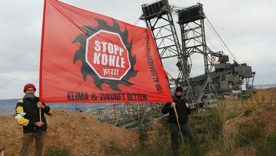Noch wird in Deutschland Braunkohle zur Verbrennung und zur Gewinnung von Strom abgebaut, doch der Ausstieg ist beschlossen