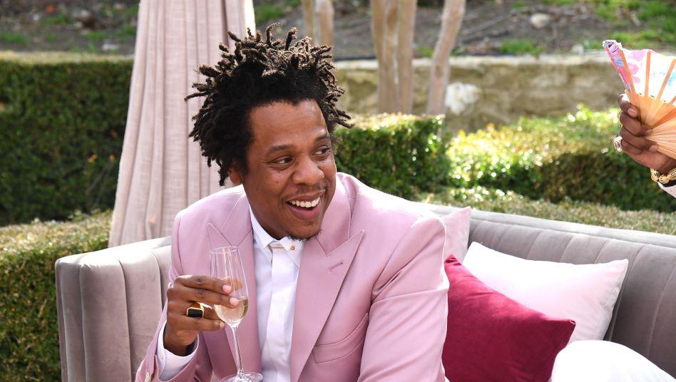 Mit einem Hauch Hip-Hop-Glanz: Rapper Jay-Z verkauft die Hälfte seines Champagner-Unternehmens