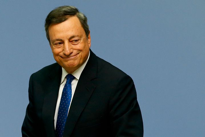 EZB-Präsident Mario Draghi: Kann auf Deutschland so viel Rücksicht nehmen wie die Bundespolitik auf Nordrhein-Westfalen
