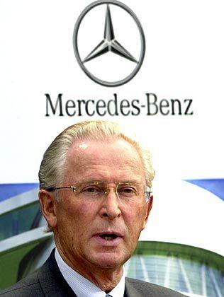 Gibt die Mercedes-Leitung ab: Jürgen Hubbert