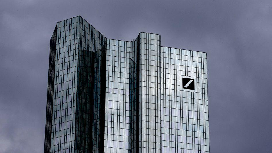 Digitalisierungsluft nach oben: Zentrale der Deutschen Bank.