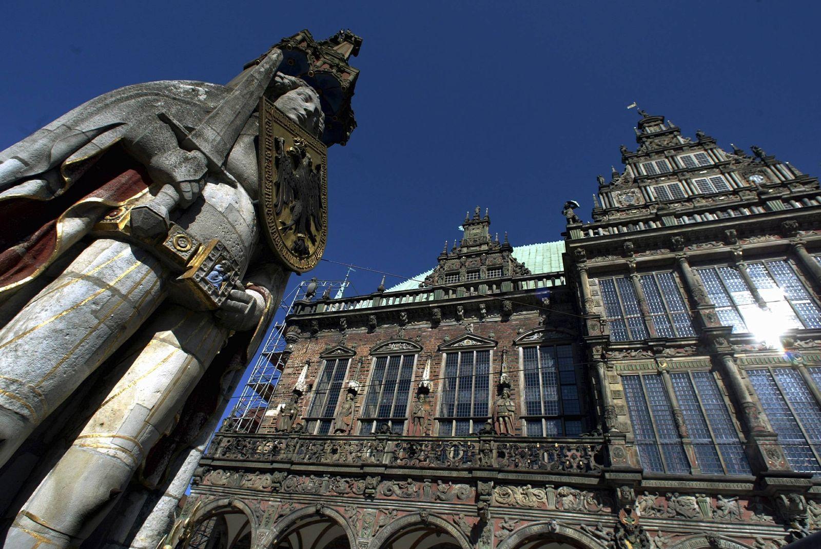 NICHT VERWENDEN Bremer Rathaus / Bremen