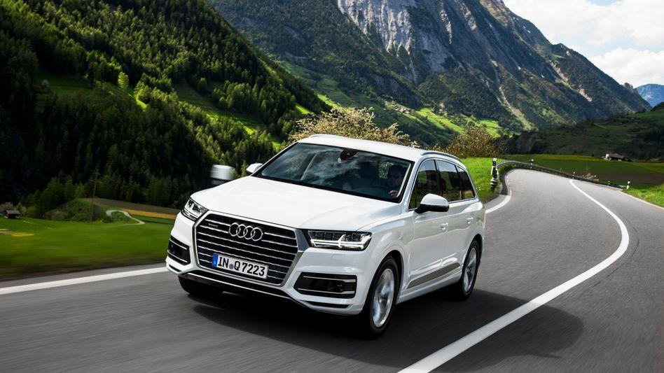 Schweres Gerät ist gefragt: Audis Geländewagen Q7