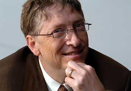 """""""Neue Version des Internet Explorers"""" Bill Gates auf der Sicherheitskonferenz in San Francisco"""