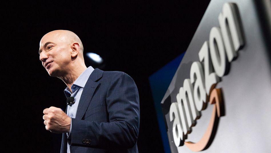 Amazon-Chef Jeff Bezos: Hohe Investitionen