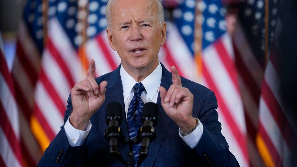 """""""Eine Investition für Amerika, die nur einmal pro Generation vorkommt"""": So beschreibt US-Präsident Joe Biden sein Infrastrukturprogramm """"Build Back Better"""""""