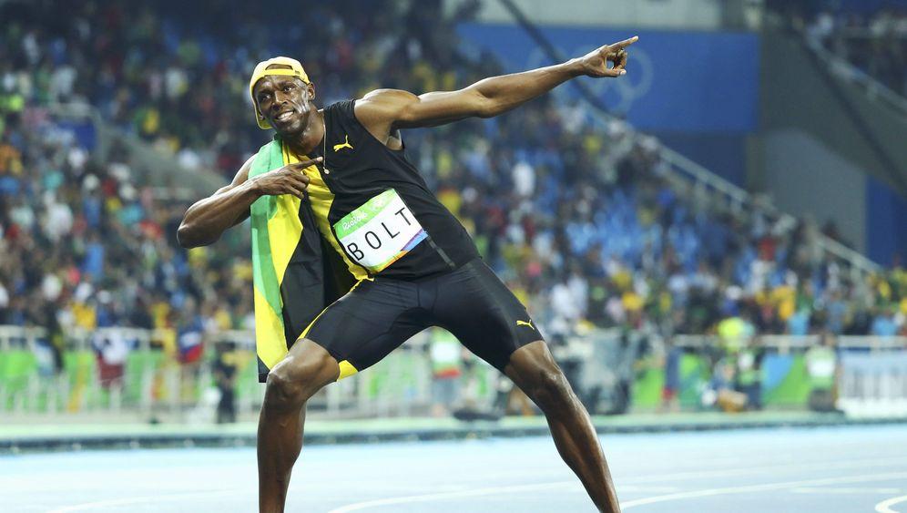 Bolts drittes 100-Meter-Gold: Eine Demonstration