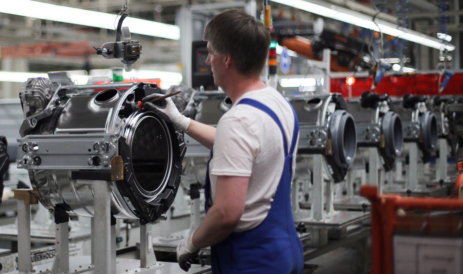 Deutschland / Wirtschaft / Konjunktur / Maschinenbau