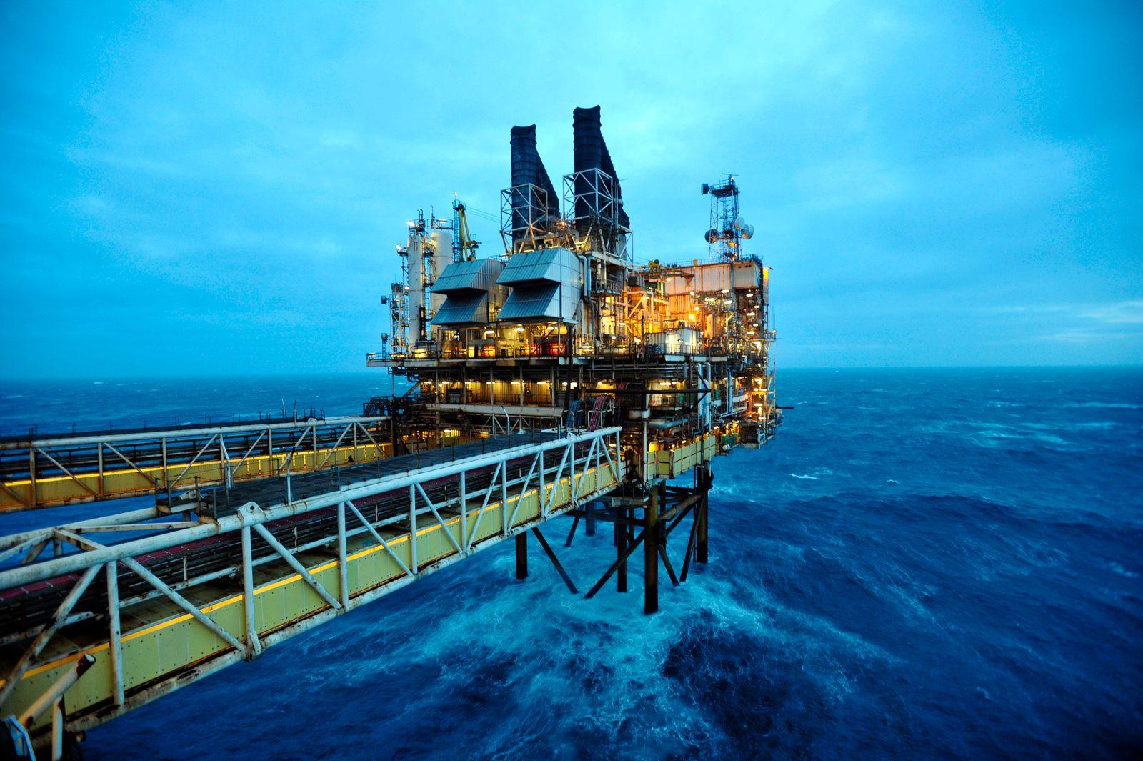 Öl-Förderung / Offshore