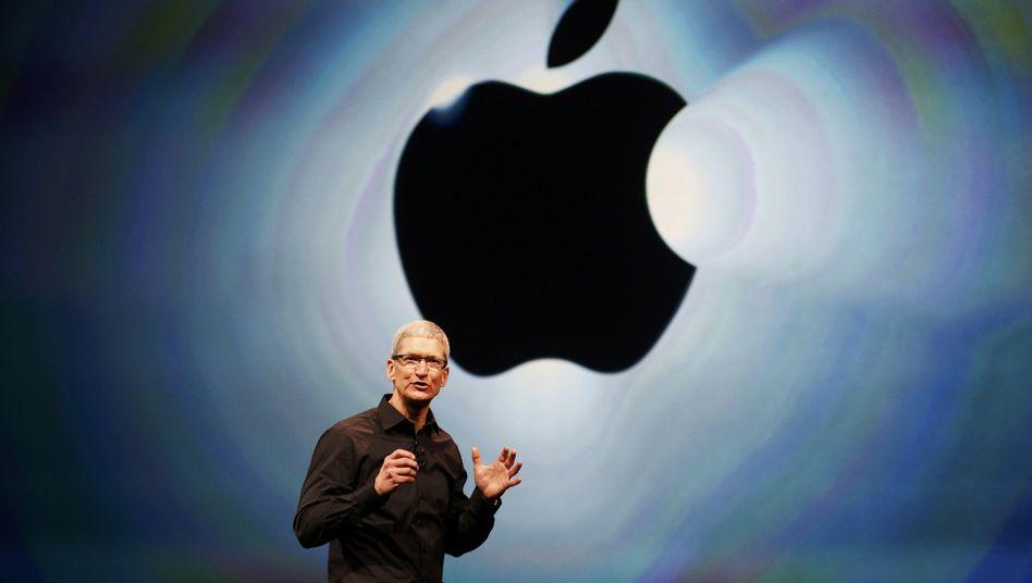 """Apple-Chef Tim Cook: """"Alle nötigen Steuern gezahlt"""""""